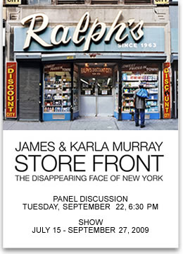 Store Front: James &  Karla Murray