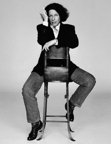 Fran Lebowitz photograph by Kelly Klein