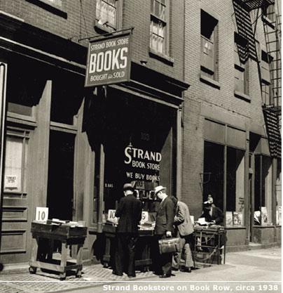 the strand circa 1938. image: strandbooks.com