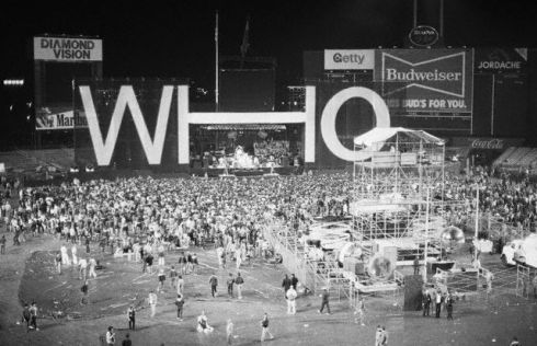 Who Concert at Shea Stadium