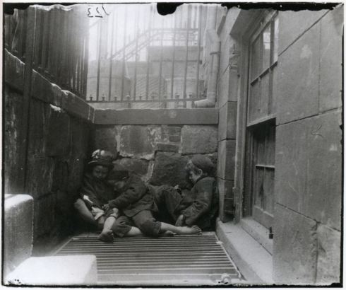 Street-Arabs-in-Sleeping-Quarters-I